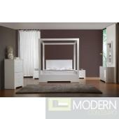 Modrest Sanna - Modern High Post Bed