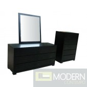 Pictured with Sarabi Six-Drawer Dresser w/ Mirror