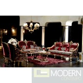 3PC Italian Classics Caesar  Sofa Set.