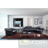 Modern Tufted Sectional Sofa and Love Seat - 5931