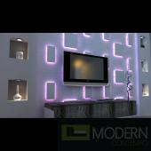 LED LIT  3D PANEL A6  SQUARE 2