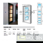 Zuritalia Galaxy LED DOOR