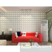 Shade - Exterior and Interior PVC Glue on Wall 3d Surface Panel. 12 panels 32.29 sf