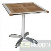 Sheldon Teak & Aluminum Table