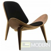 Shell Chair, Black