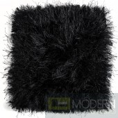 Modrest Sitka Modern Black Small Area Rug