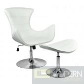 Artiglio Lounge Chair and Ottoman