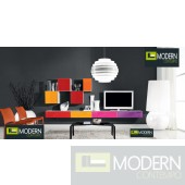 Futurisitc Contemporary Wall Unit MC890