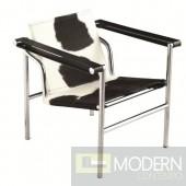 String Pony Flat Chair, Black