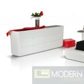 Modrest Symphony - Modern White Lacquer Dresser