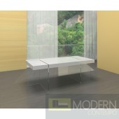 Zuritalia Modern White lacquer Dining Table MCCIIT1110