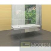 Zuritalia Modern White lacquer Dining Table MCCIIT1110