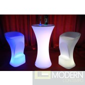 Rechargeable LED Bar Stool with Color Change Remote-MCYK-5091