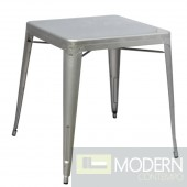 Talix Dining Table, Silver