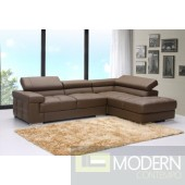 Tamani Leather Sectional Sofa