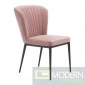 Tolivere Dining Chair, Pink (Set of 2) by ZUO  LOCAL DMV DEALS