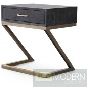 Arya Black SIde Table