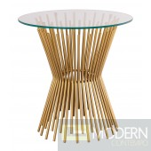 Angelica Glass Side Table