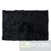 Modrest Twinkle MS10 Black Small Area Rug