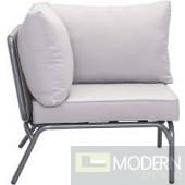 Zuo Corner Seat, Gray