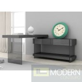 Zylina Modern Desk in High Gloss