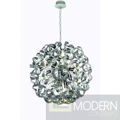 Nora Chrome 30 Light Chandelier With Clear Elegant Cut Crystal 43""