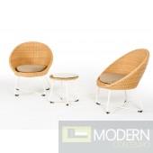 Renava Venini Outdoor Lounge Chair Set