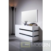 Modrest CG02D - Contemporary White Gloss Dresser
