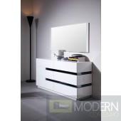 Modrest CG02D - Contemporary White Gloss Dresser