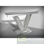 Modrest Victory Mirrored Console Table