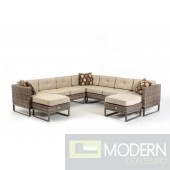 Renava Vigo Outdoor Sectional Sofa Set