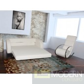 Violet - Modern Leather Sofa Bed