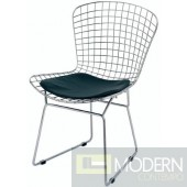 Wire Side Chair, Black