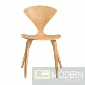 Wooden Side Chair, Natural