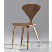 Wooden Side Chair, Walnut