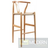 Woodstring Counter Chair, Natural
