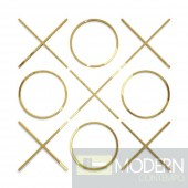 Wall Decor XO set of 9 – SMALL GOLD