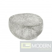 Dolce Silver Reef aluminium coffee table