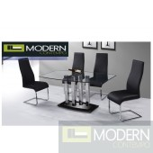 Dion Glass Dining Table