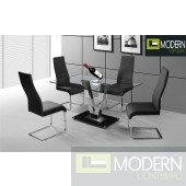 Edessa Glass Dining Table