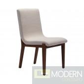 Zuo Modern Hamilton Beige Dining Chair - Set of 2  LOCAL DMV DEALS