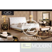Zuritalia Zuriel  Royal Collection Luxury Italian Style Bedroom Set