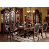 ACW 04075 Chateau De Ville Dining Table in Cherry and Leather Chairs by Acme w/Options