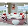 Divani Casa 6001 - Modern Bonded Leather Sectional Sofa