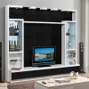 Contemporary Modern wall unit entertainment center MC8812