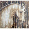 Modrest ADC7919 Horse Oil Painting On Canvas and Metal