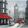 Modrest ADC8087 City Street Oil Painting On Canvas