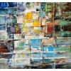 Modrest ADC8108 Abstract Oil Painting On Canvas and Metal