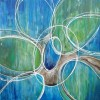 Modrest ADC8186 Abstract Oil Painting On Canvas