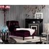DAFNE Armani Xavira Velvet Transitional Chaise Lounge